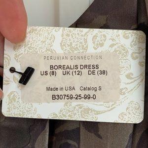 Peruvian Connection Dresses - Peruvian Connection Borealis Dress NWT Orig. $300